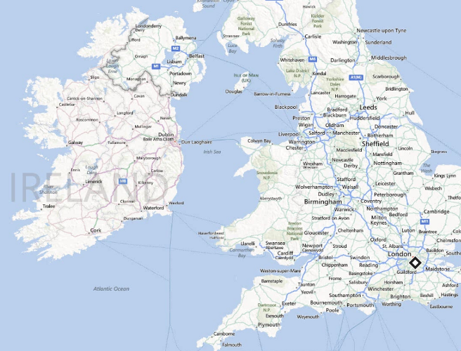 "One Of Best Shows In Town Is Free Every >> Bing Maps is still calling Portlaoise ""Maryborough"""